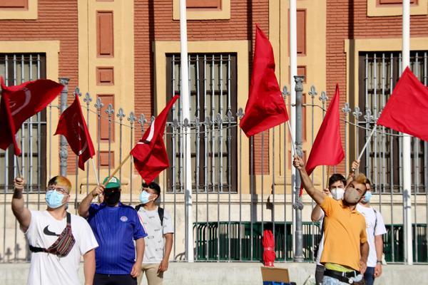 Concentración estudiantes Andalucía 4