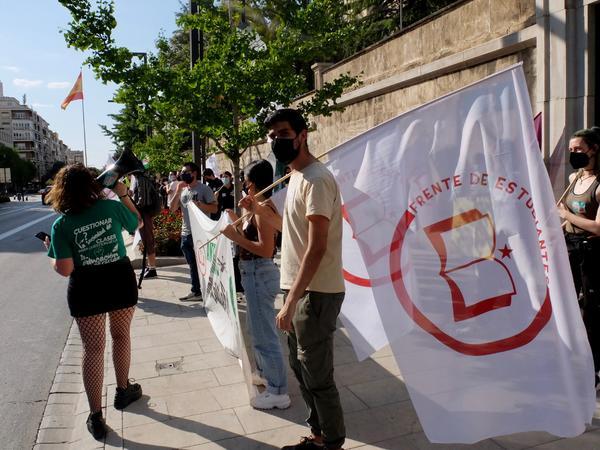Concentración estudiantes Andalucía 8