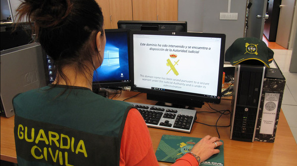 dominio intervenido guardia civil referendum
