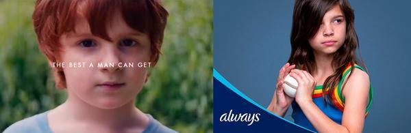 Gillette y Always