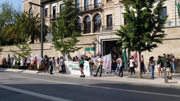 Concentración estudiantes Andalucía 6