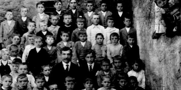 Francisco Sirgado en la escuela