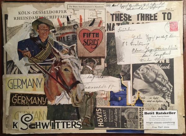 Collage de Kurt Schwitters