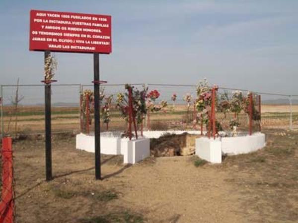 Pozo donde arrojaban a las víctimas