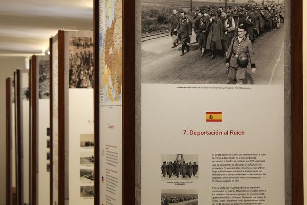 """Vista de la exposición itinerante """"Rotspanier"""" 1"""