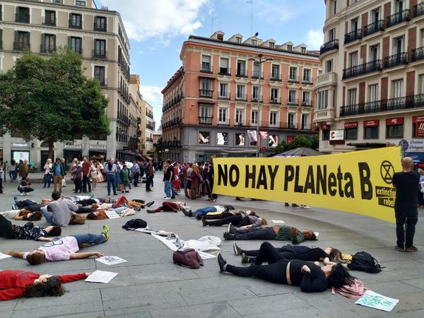 Extinction Rebellion en Madrid