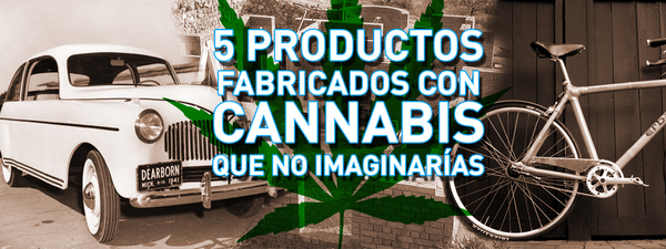 5 productos cannabis
