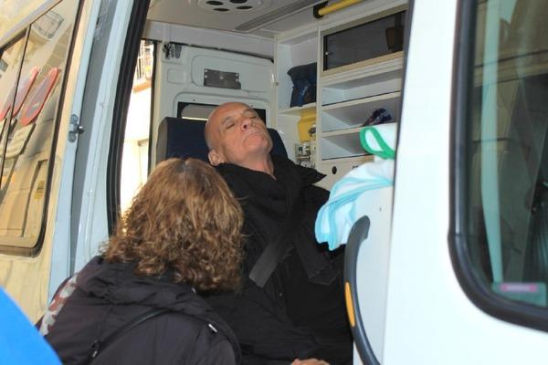 Paco Vega, huelga de hambre por la renta básica en Andalucía