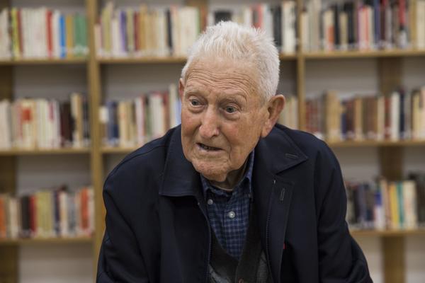 Martin Arnal Mur, durante la entrevista