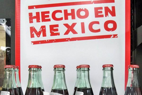 Coca cola en México