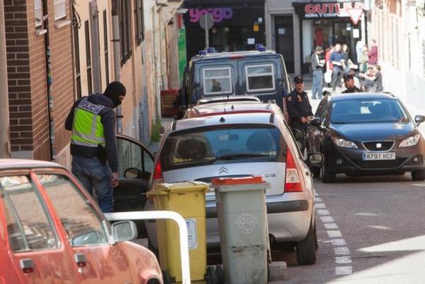 Operación Piñata en Vallecas