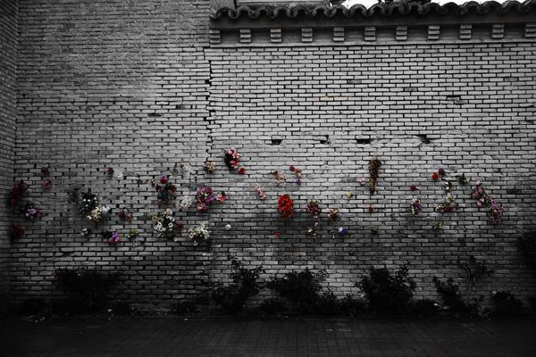 Muro de fusilamiento en represalia al bando republicano en el Cementerio de Torrero. Fuente: Zero Grados