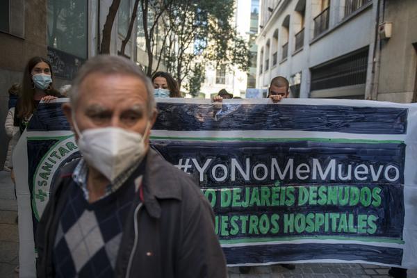 Acción Yonomemuevo por la salud del Madrid - 4