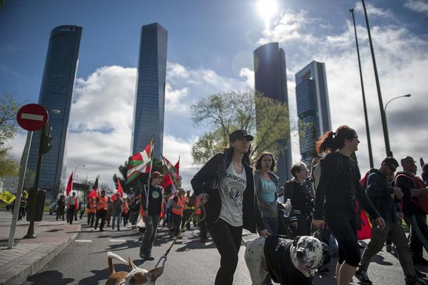 Marchas de la Dignidad, columna norte 2014