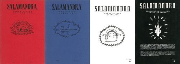 Ejemplares de la revista Salamandra, Grupo surrealista de Madrid