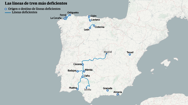 mapa 3 tren