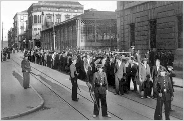 Revolucionarios detenidos en Gijón