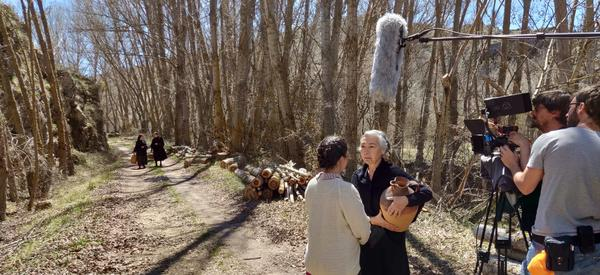 Rodaje de la película 'Maquis', dirigida por Rubén Buren