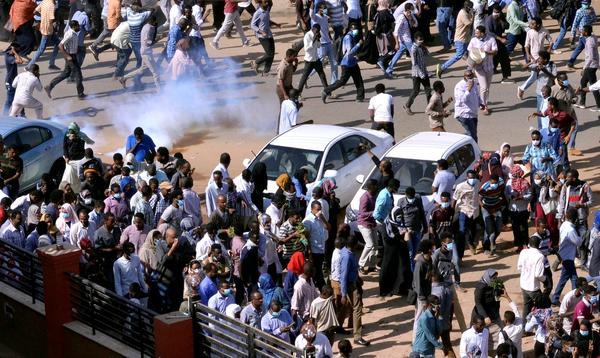 Manifestación sudán
