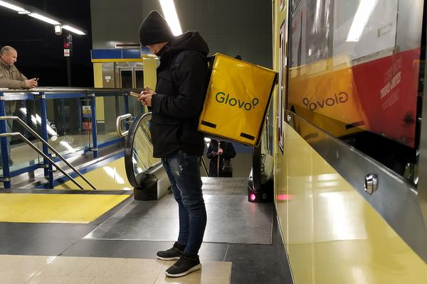 Glovo metro