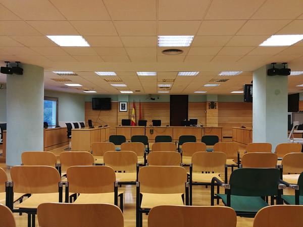 Audiencia Navarra Sala Juicio La Manada