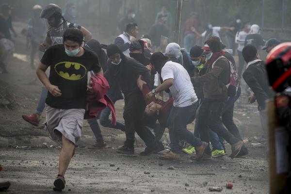 Disturbios en Nicaragua 2.
