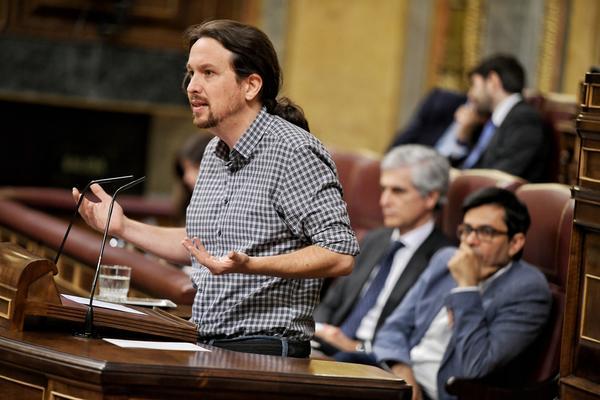 Pablo Iglesias investidura julio 2019