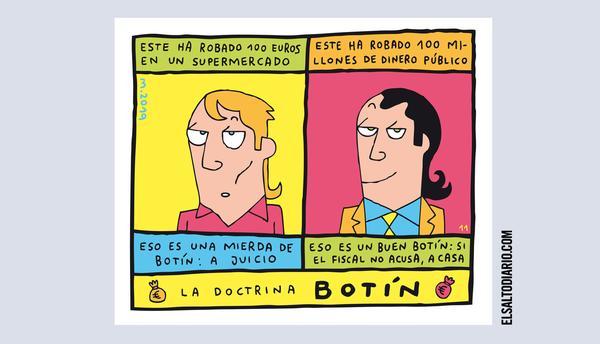 La doctrina Botín, por Mauro Entrialgo