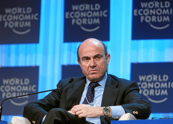 Luis de Guindos en el World Economic Forum