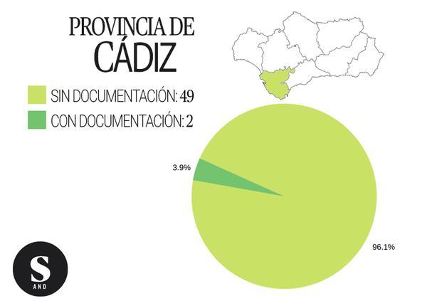 Gráfica inmatriculaciones Cádiz