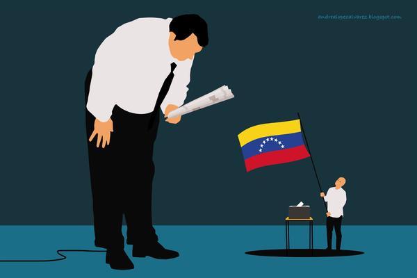 Poder y medios en Venezuela