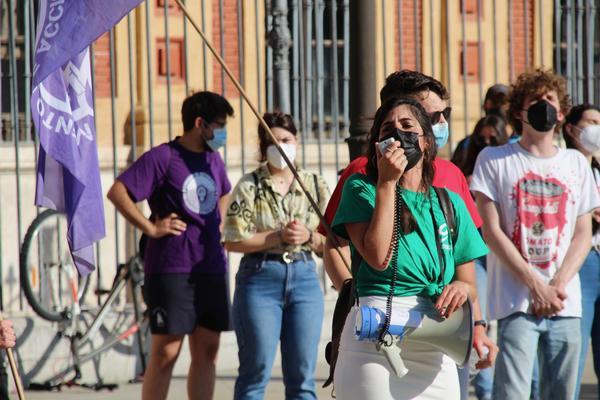 Concentración estudiantes Andalucía 2