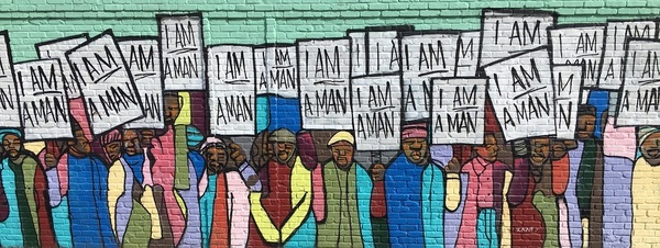 Mural Memphis Martin Luther King
