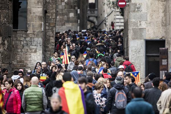 Huelga Barcelona 8 noviembre