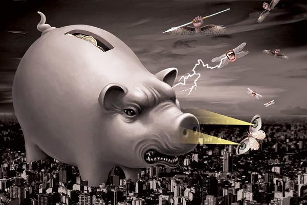 Battling bankers