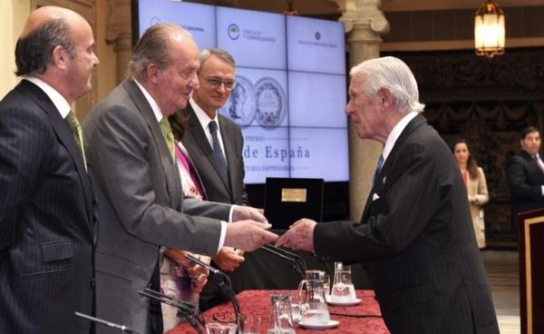 Rey Juan Carlos industria militar vasca