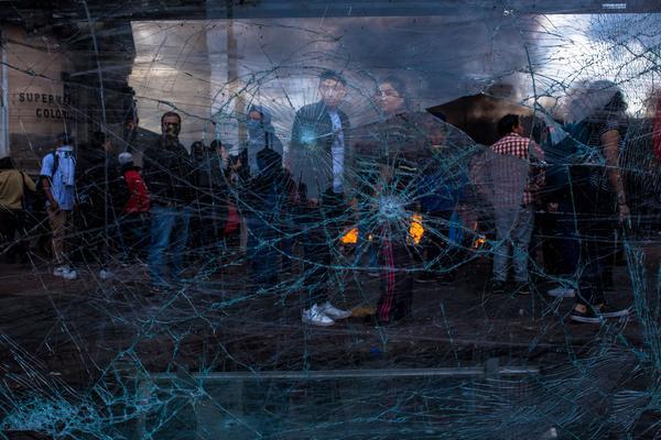 Disturbios en Quito octubre 2019