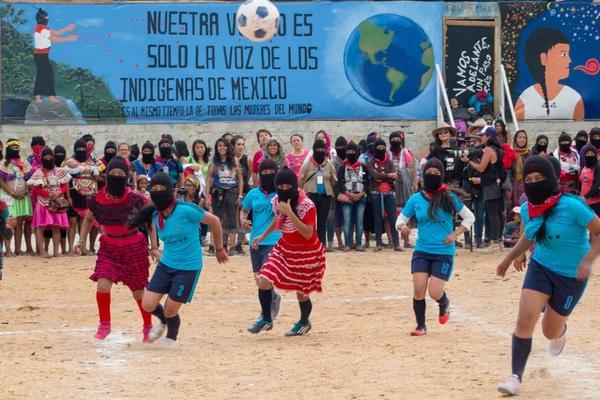 Primer Encuentro Internacional Mujeres que Luchan, Morelia, agosto 2018