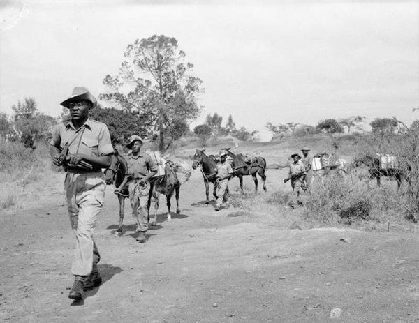 Mau Mau independencia Kenia