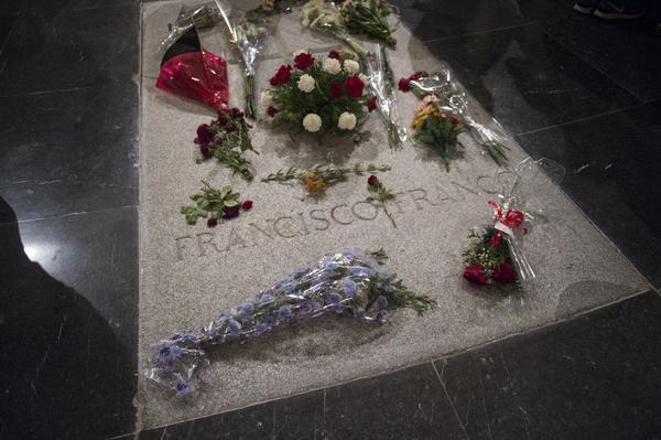 Tumba Franco Valle de los Caídos