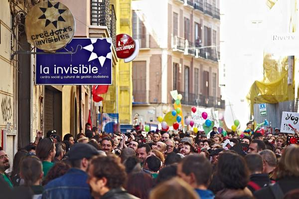 Manifestación Invisible 2015