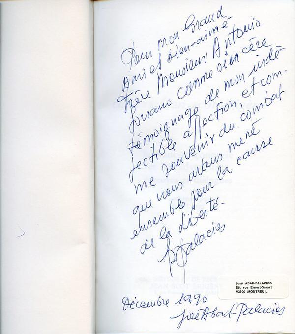 Carta José Abad