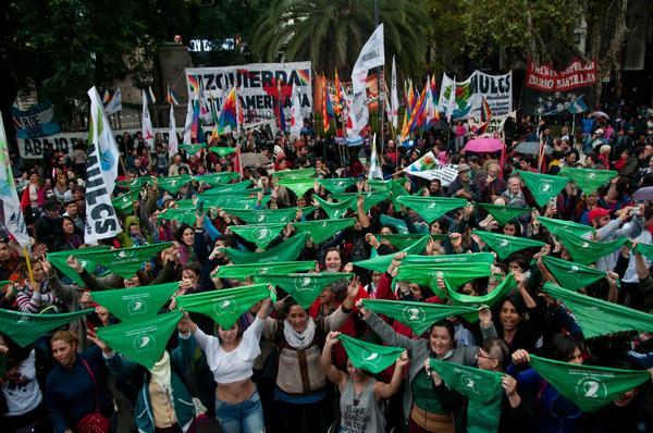 Pañuelazo Argentina Aborto 4 de Junio 2
