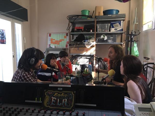 Radio ELA en Lavapiés, Madrid