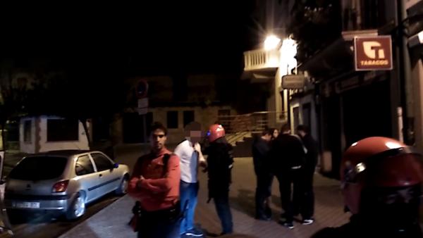Vídeo de la pelea en Altsasu
