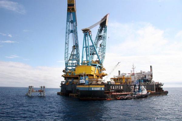 Proyecto Castor almacén de gas