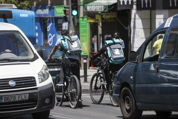 Deliveroo repartidores