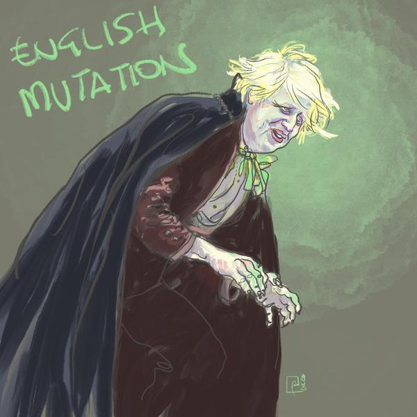 Boris Johnson, caricatura
