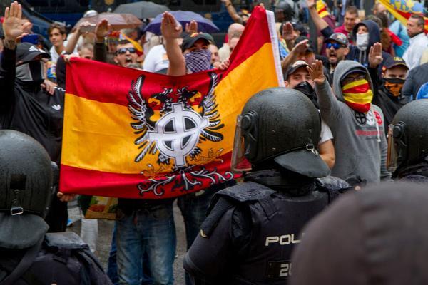 Fascistas en Valencia