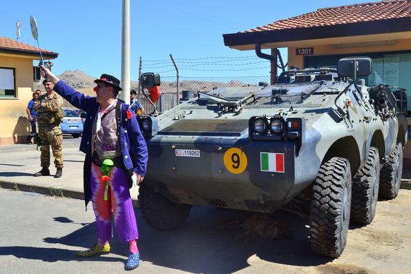 Caravana Abriendo Fronteras en Mineo (Sicilia)